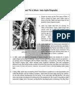 Janis Joplin's Biography