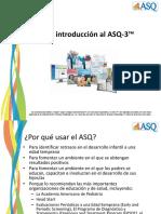 Spanish Intro to ASQ 3 PPT