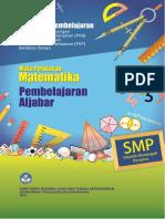 Paket Unit 2 - Pembelajaran Aljabar Buat Matematika SMP