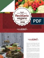 Recetario vegano 2018