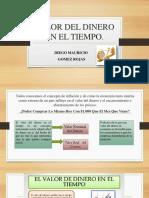 Valor Del Dinero en El Tiempo Diego