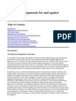 Anarchism - Arguments for and Against