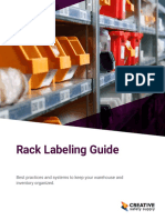 Guide Rack Labeling