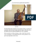 Como Tener Trio Voces y Guitarras