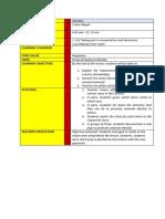 sample of civic lesson plan