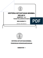 KKM KELAS5