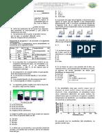Evaluacion Formativa de Quimica 9
