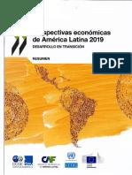 Perspectivas Económicas AL 2019