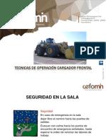 Ppt Tecnicas Operacion Cargador Frontal