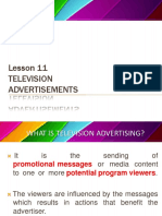 Lesson 11 Tv Ads