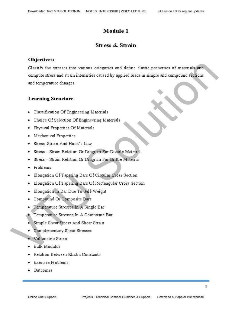 Mechanics of Materials.pdf   Deformation Engineering   Yield ...