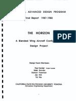 Blended wing aircraft design (NASA Report).pdf