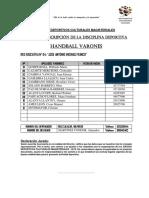 Ficha de Inscripción - Prov.