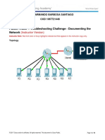 8.1.1.8 Packet Tracer - Troubleshooting Challenge - Documenting the Network Instructions - ILM