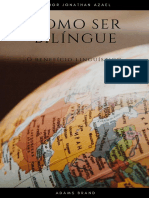 Como Ser Bilíngue? Author Jonathan Azael Portuguese