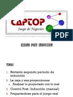 Sesión Post Induccion