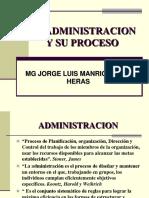 La Administracion y Su Proceso