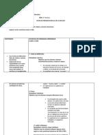 Planificación de matemática 2 grado primaria Bs as