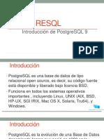 Cap1 Introducci n a PostGRESQL