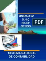 Unidad 02 Sistema Nacional de Contabilidad NICSP