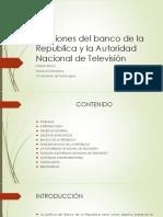Funciones Del Banco de La Republica