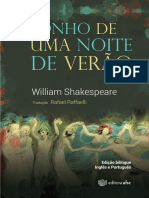 Sonho de uma noite de verão e-book William Shakespeare