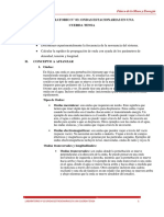 GUIA DE LABORATORIO N° 3 ONDAS ESTACIONARIAS