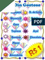 Panfleto de Los DinDin
