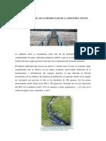 Tratamiento de Aguas Residuales de La Industria Textil