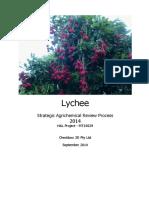2014 lychee sarp report