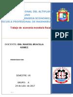 Monetaria y Fiscal (1)