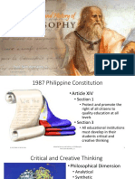 Midterm - Introduction to and History of Philosophy