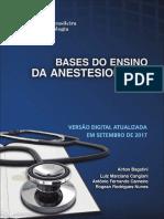 Bases Do Ensino Da Anestesiologia2017