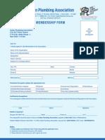 Membership Form IPPL