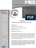 TELQ6401 Optical Fiber Technician v1.0 04.07.2018