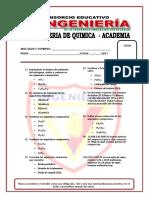 Examen de Quimica Academia