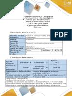 Guía de Actividades y Rúbrica de Evaluación Unidades 1,2 y 3- Fase Final - Crear Proyecto de Información en EverNote