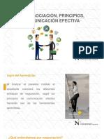 1. La Negociación. Principios. Comunicación Efectiva