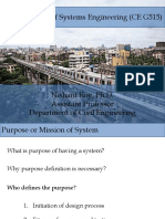 system engineering life cycle and planning phases