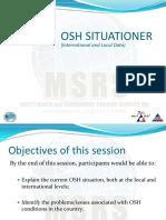 OSH situationer