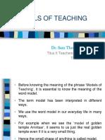 4.3 Models of Tg.