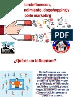 Mercadeo 3, Microinfluencers, Microemprendimiento y Mercadeo Digital