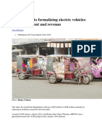 Electric vehicle in BD