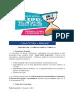 Ponentes Convocatoria 2019