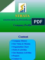 Company Profile of Strata Geotechnical Investigation Co.,Ltd