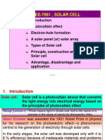 Solar Cell Lecture-2