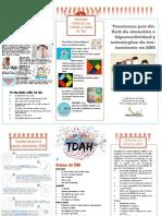 folleto TDAH
