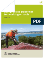 safety standard on roofing works