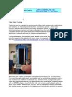 Fiber Optic Testing.docx