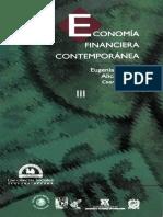 Economía Financiera Contemporánea. Tomo III
